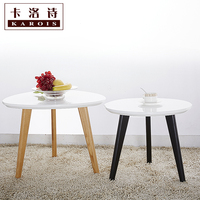 Free Shipping Solid Wood Assembly Coffee Table Ending Table In Triangle Designs