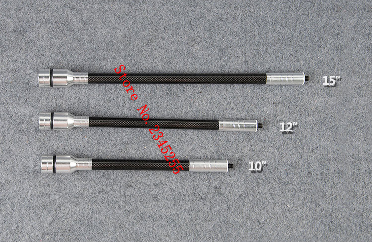 Archery compound bow recurve bow stabilizer 10 12 15 18 5 28 5 31 5 34