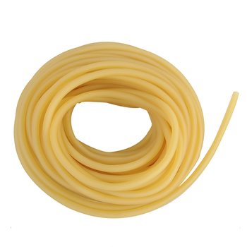 2x4mm 3x5mm 4x6mm Hunting Natural Latex Tube Outdoor Shooting Slingshots Rubber Band Catapult Fitness Yoga Bungee Elastic Band 2