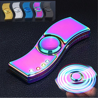 POPIGIST Bearfire New Fidget Spinner Lighter With Heating Wire And LED High Speed Focus Anxiety Relief