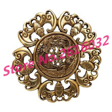 A copper bat longfengchengxiang bronze ornaments Home Furnishing Five blessings descend upon the house of Feng Shui decoration