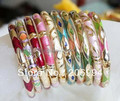 Wholesale designer Chinese cloisonne Bracelets 6pc/lot gift fashion jewelry free shipping