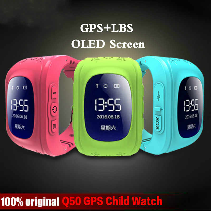2019 HIXANNY Anti Lost OLED Child GPS Tracker Smart Monitoring Positioning Phone Kids GPS Baby Watch For IOS & Android  watch