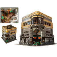 Lepin 15015 5003pcs Creative City Street Building The Dinosaur Museum Model Building Block Toys Children Gifts