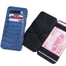 Minimalist Men Wallet Rfid Slim Card Organizer Purse Magic