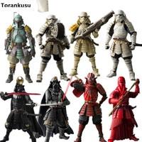 Star Wars Action Figure Sic Samurai Taisho Darth Vader Boba Fett Stormtrooper 170mm Realization Anime Star