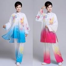 Customize Tai chi clothing Martial arts suit kungfu uniform taiji clothes garment for women men boy girl kids adults children