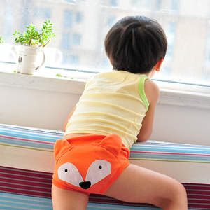 Embroidery Training for Girls Boys New-Styles Diapers Pant Nappy Changing Baby Waterproof