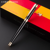Picasso 903 Black And Golden Roller Ball Pen Dream Series Stationery School Office Supplies Writing Pen