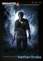 Uncharted 4: A Thief's End HD Game Scrolls Poster Bar Cafes Home Decoration Banners Hanging Art Waterproof Cloth Decorative