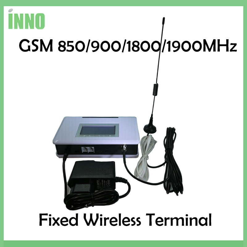 1PCS GSM 850/900/1800/1900MHZ Fixed Wireless Terminal With LCD Display, Support Alarm System, PABX, Clear Voice,stable Signal