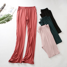 Stylish Y oga Pants Gym Wide Leg Plus Size Women Loose Fitness Long Trousers for Dance Soft Modal S ports Home