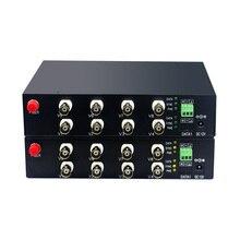 Mini 8 CH Với RS485 Dữ Liệu AHD CVI TVI Để Sợi Quang Chuyển Đổi, 1080P Sợi Truyền Thông Bộ Chuyển Đổi Cho Camera Quan Sát 2MP CVI TVI AHD