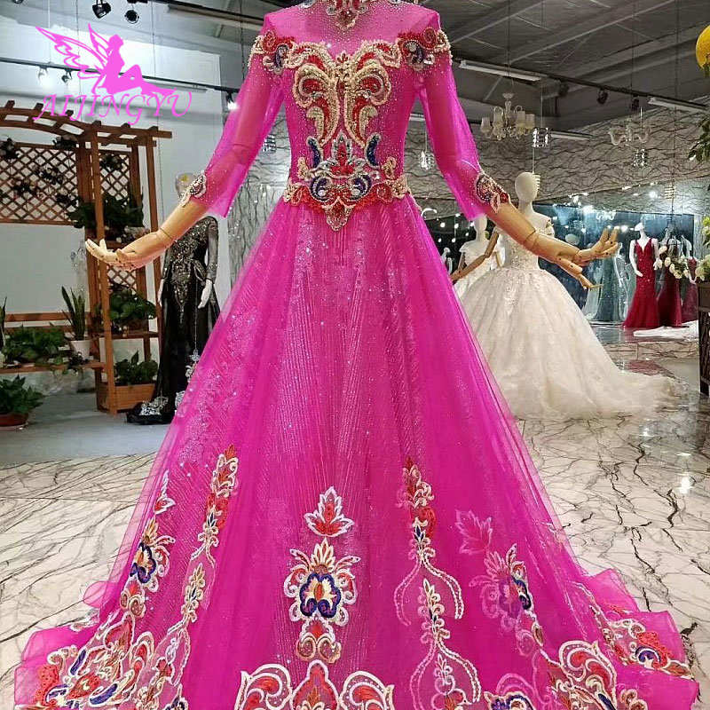 Cheap Wedding Gowns Uk: AIJINGYU Moroccan Wedding Dress Gown Designs In Dubai With