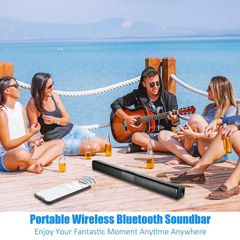 20 ワットテレビサウンドバー有線およびワイヤレスbluetoothホームサラウンドサウンドバーpcシアターテレビスピーカー