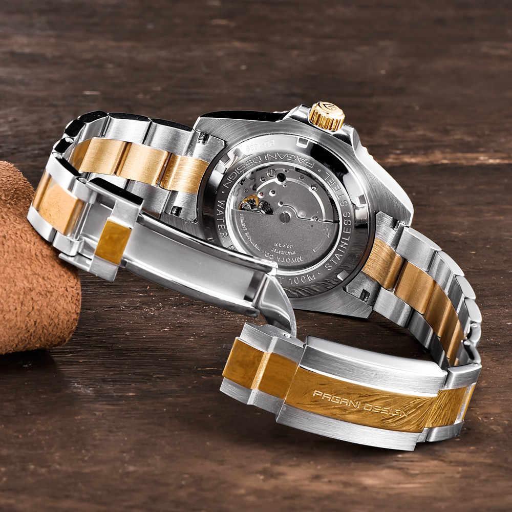 PAGANI PROJETO Homens Relógio Mecânico Automático Marca de Moda Criativa Luxo Brilhante Lazer Calendário Relógio Relógio Relogio masculino