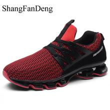 Купить с кэшбэком Casual Shoes For Men New Breathable Sneakers Men Shoes Plus Size 48 47 Comfortable Footwear Wearable Bottom Lace Up Zapatillas