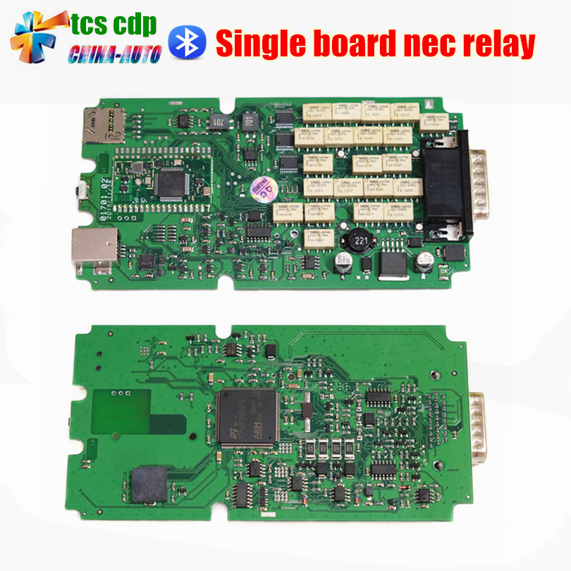 Подробнее о 5pcs/lot High Quality TCS CDP PRO NEW VCI With bluetooth + single board green software 2014R2/2015.R3/2015.1 Free Activated 5pcs lot 2015 1 2015 3 software tcs cdp pro with bluetooth for cars