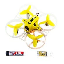 Yellow Tiny7 PNP Mini FPV Racing Drone Kingkong Quadcopter with 800TVL Camera No Receiver (Basic Version) F20012