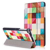 High Quality Tri Folded Stand Smart Protective Case For Huawei MediaPad T1 7 0 T2 7