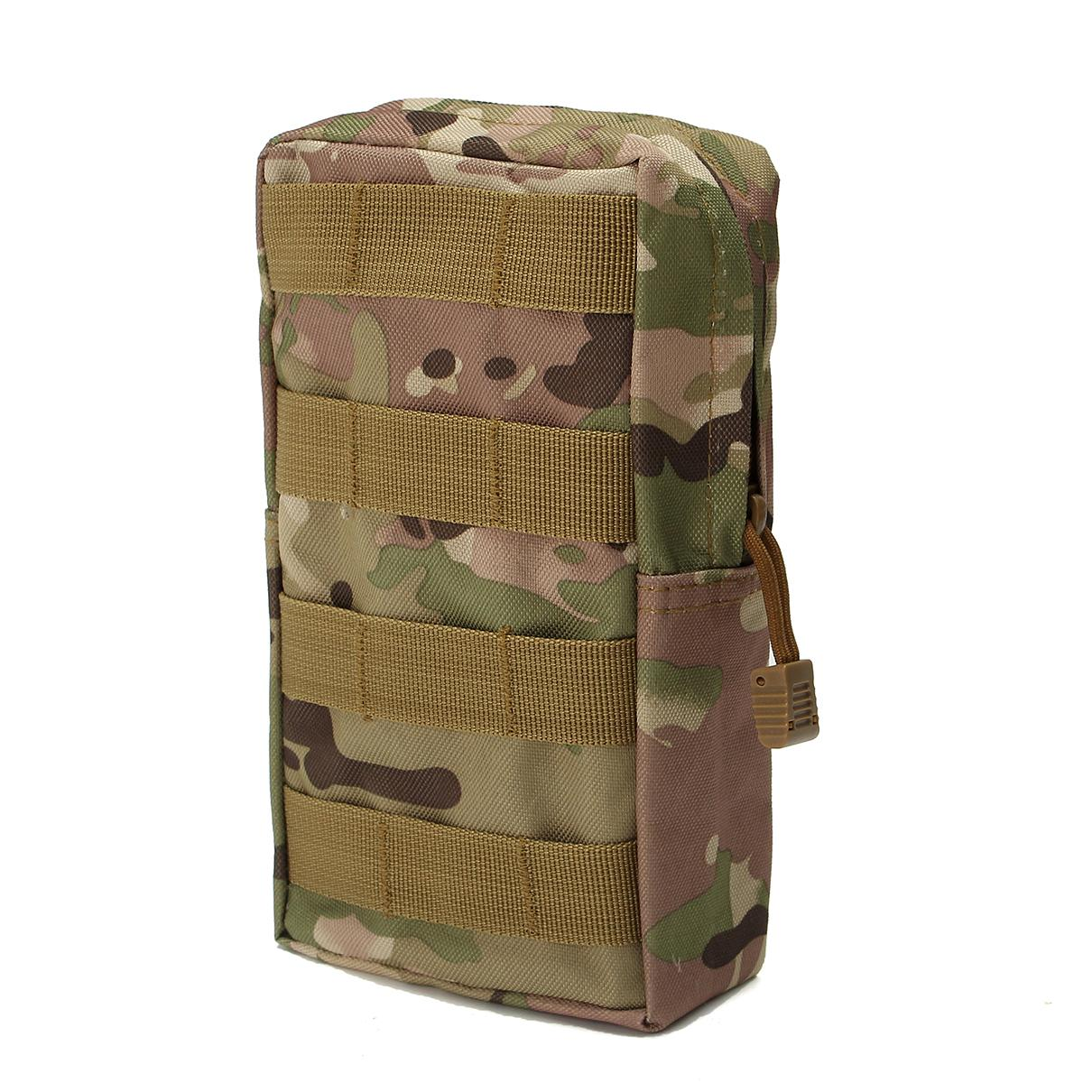 Nylon Waist Bag Tactical Molle Waterproof Medical First Aid Outdoor Bags Utility Emergency Storage Pouch Bag Emergency Kits
