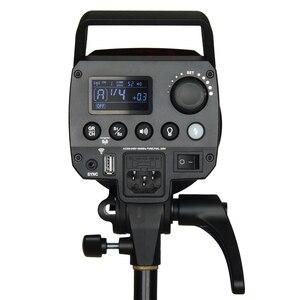Image 5 - Godox MS200 200W veya MS300 300W 2.4G dahili kablosuz alıcı hafif kompakt ve dayanıklı Bowens dağı stüdyo flash