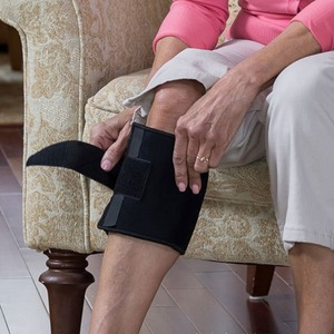 Image 3 - New Therapeutic Beactive Brace Point Pad Leg Black Presssure Brace Acupressure Sciatic Nerve