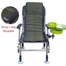 New Stainless Metal European Fishing Chair Multifunctional Folding Fishing Chai Transportable Outside Fishing Chair All terrain