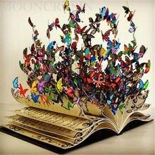Алмазная живопись «сделай сам» вышивка крестиком Красочные бабочки