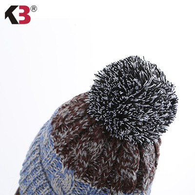 Women\'s Winter Beanie Warm Fleece Lining Thick Slouchy Cable Knit Skull Hat Ski Cap (4)