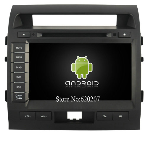S160 Android 4 4 4 CAR DVD player FOR TOYOTA LC200 9inch panel car audio