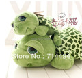 35CM Cute Big Eye Little Green Tortoise Toys Stuffed and Plush Toy Soft Dolls Baby Love Very Good Quality Wholesale