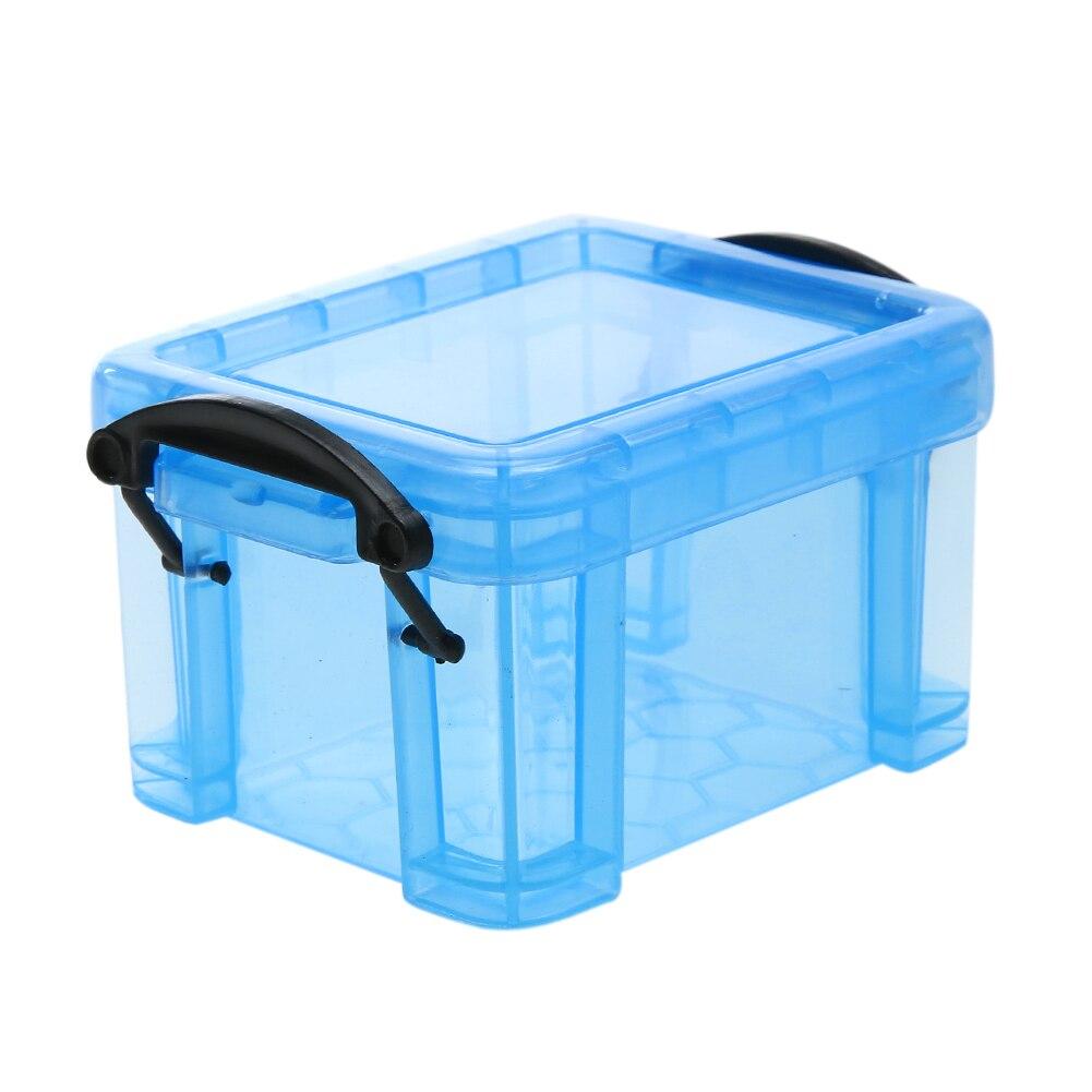 Small Storage Boxes Plastic Home Furnishing Trumpet Lock Box Super Cute Storage Box Desk Organizer Accessories