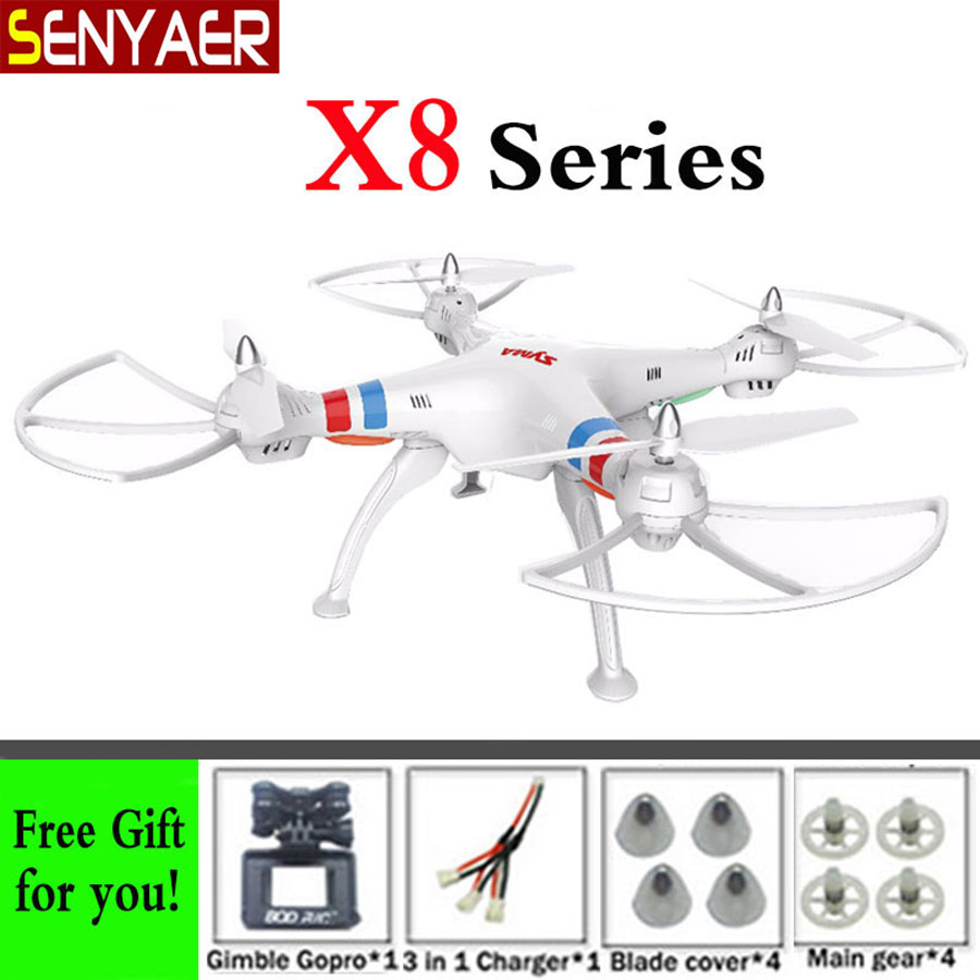 Syma X8C X8W X8 6-Axis RC Quadcopter Without FPV WIFI Camera Drone Compatible With Gopro/SJCAM/Xiaoyi/EKEN Action Camera