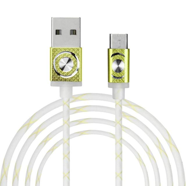 5PCS USB Cable 2017 Phone Accessories Wholesale Price Elegant Hard Snake Skin Micro USB 2.0 Data Sync Charger Cable For Android