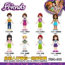 Friend Series Fairy Tale Princess Girl Maleficent Doll Figure Bricks Blocks Kid Friends Children Toys Compatible Locking Friends(China)