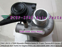 TD025 28231 27000 49173 02410 49173 02412 49173 02401 turbo для Hyundai Trajet Tucson Elantra Санта fe для KIA Carens D4EA 2.0L
