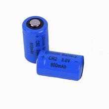 2 шт./лот SHSEJA Батарея CR2 3 V 800 mah литиевая батарея для gps системы видеонаблюдения и безопасности медицинское оборудование литиевая батарейка для камеры