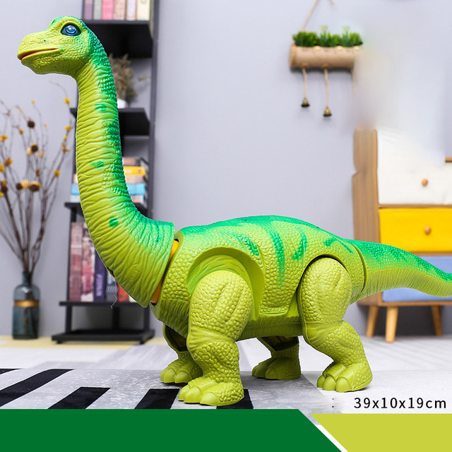 Jurassic World Dinosaur Electric Walking Laying Eggs Dinosaur Remote Control With Light Sound Electronic Toy For Kid Gift ToysElectronic Toys