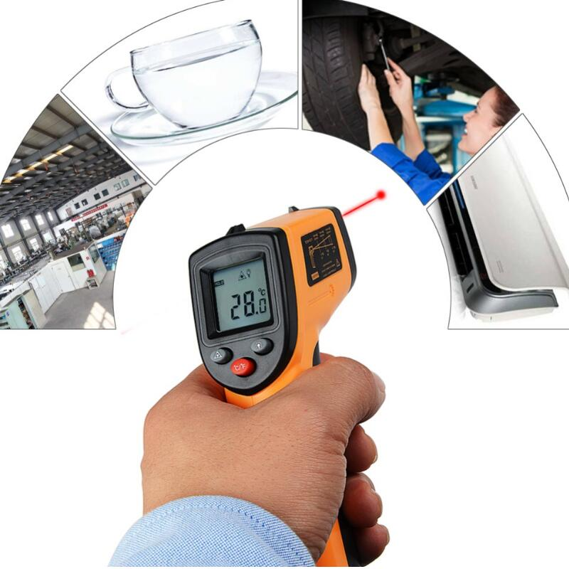 Digital GM320 Infrared Thermometer Non Contact Pyrometer IR Laser Point Gun with Backlight -50~380degree For Industial UseDigital GM320 Infrared Thermometer Non Contact Pyrometer IR Laser Point Gun with Backlight -50~380degree For Industial Use