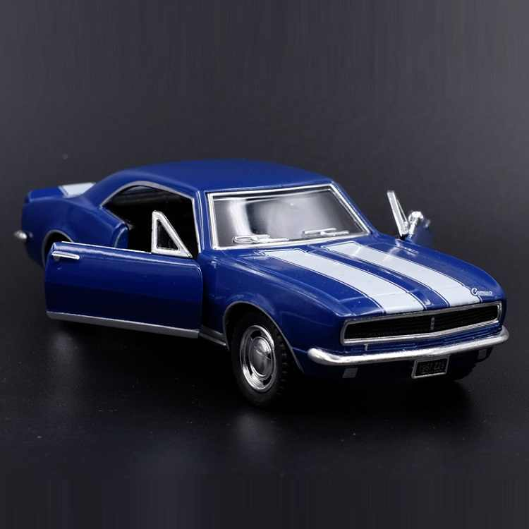 High Simulation Exquisite Diecasts&Toy Vehicles: KiNSMART Car Styling 1967 Chevrolet Camaro Z28 1:37 Alloy Model Pull Back Cars