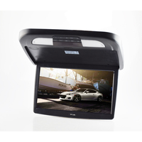18 5 Car Bus Flip Down HD Overhead Screen Ceiling Roof Mount Monitor Multimedia DVD Player