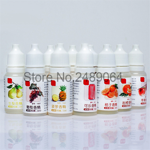 10ML Food Grade Aroma Magic Food Fragrance Drinks Jelly Candy Edible Essence Used For Baking Biscuits Dairy Handmade Soap Spice