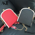 2016 Fashion Brand high quality Design Diamonds Skull Rivet Punk Women's day clutch evening bag  Shoulder Bags handbag