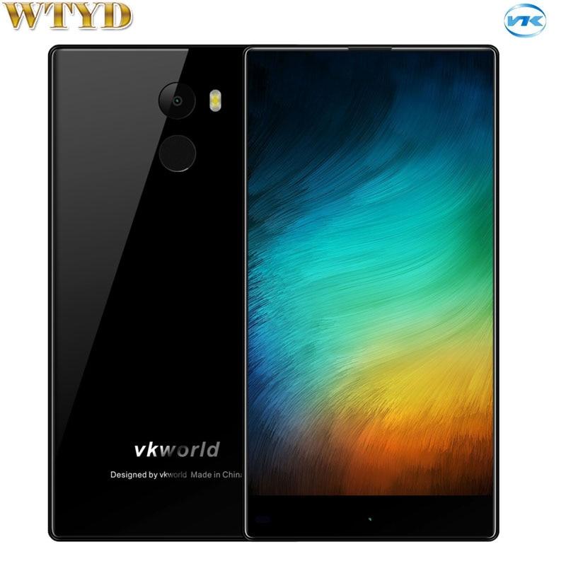 VKworld Mix 2GB 16GB Fingerprint Identification 5 5 2 5D Full Screen Android 7 0 MTK6737