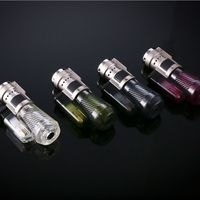 HONEST 3 Torch Flame Cigarette Cigar Butane Gas Lighter With Transparent Gift Box