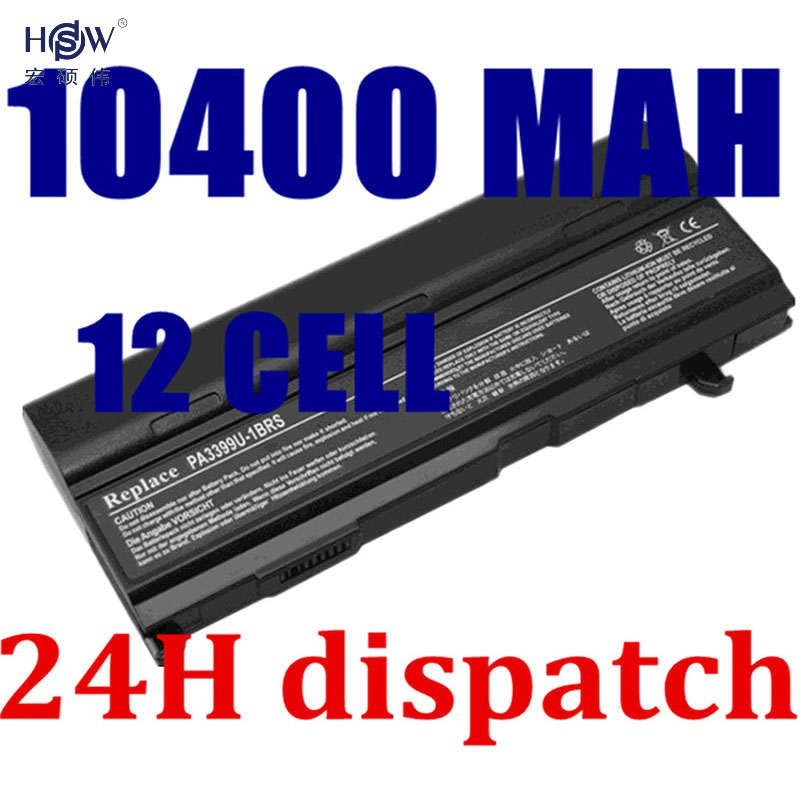 HSW Laptop Battery For Toshiba Tecra A3 A4 A5 A6 A7 S2 PA3399U PA3399U-1BAS PA3399U-1BRS PA3399U-2BAS PA3399U-2BRS  bateria akku original geniune laptop battery 7 4v 30wh for dell 0wgkh owgkh laptop battery rechargeable battery bateria akku