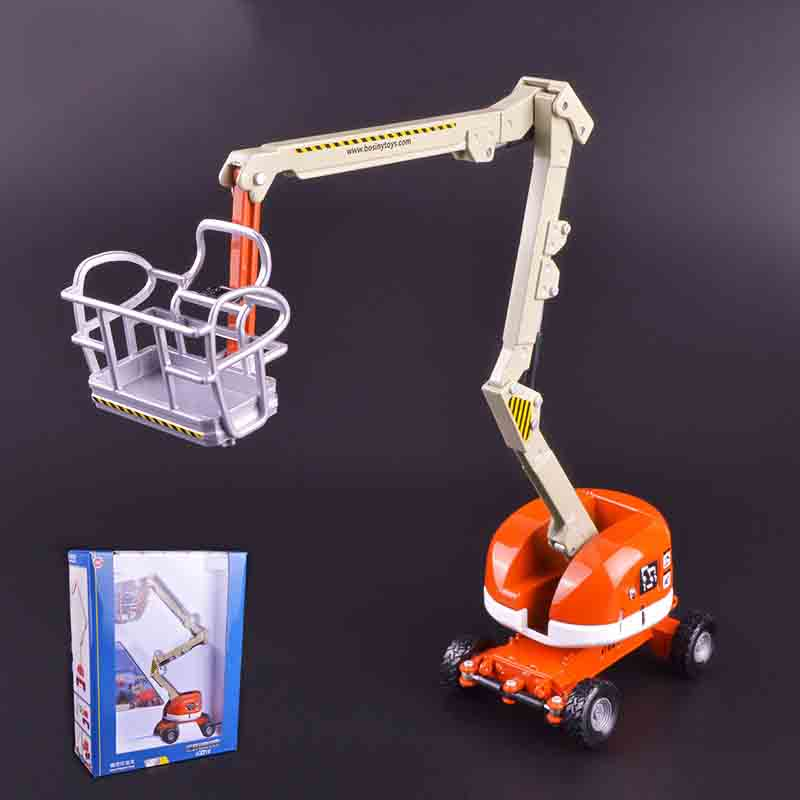 KAIDIWEI 1:87 Alloy Scale Engineering Model Car High Altitude Aerial Truck Toy Kids Toys Brinquedoes