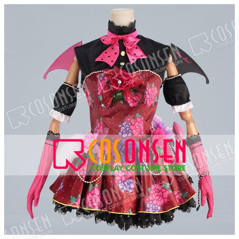 Cirque Ver Cosonsen Love Live après éveil Nishikino Maki Cosplay Costume