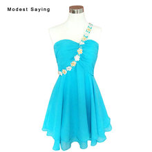 f35c91fbe8d Sexy Blue A Line Sweetheart Short Beaded Lace Homecoming Dresses 2017 Short  8th grade Graduation Gowns